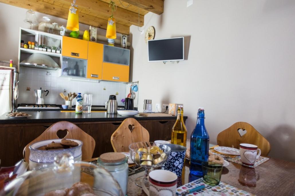 B&B-La casa sul sasso-Sala colazione