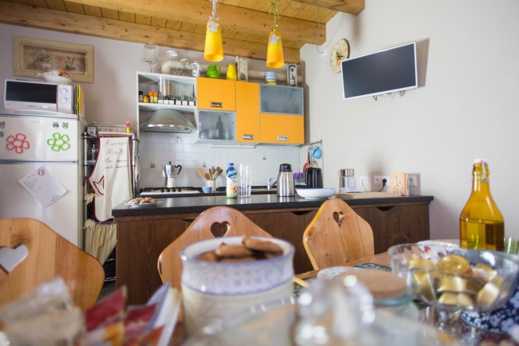 B&B-La casa sul sasso-panoramica sala colazione