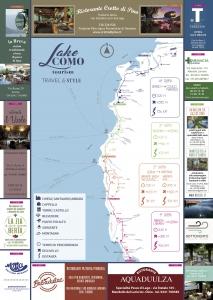 Mappa sentiero del viandante