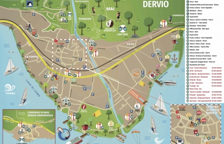 Mappa dervio low retro